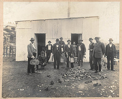 Professional ratcatchers, Sydney, 1900 - photo courtesy of State Library of NSW