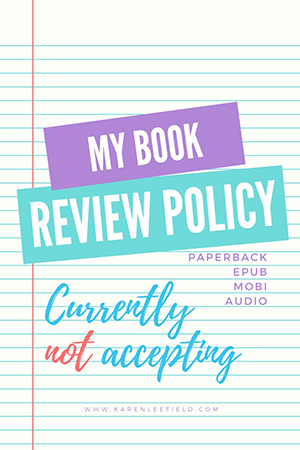 Review Policy - Not accepting